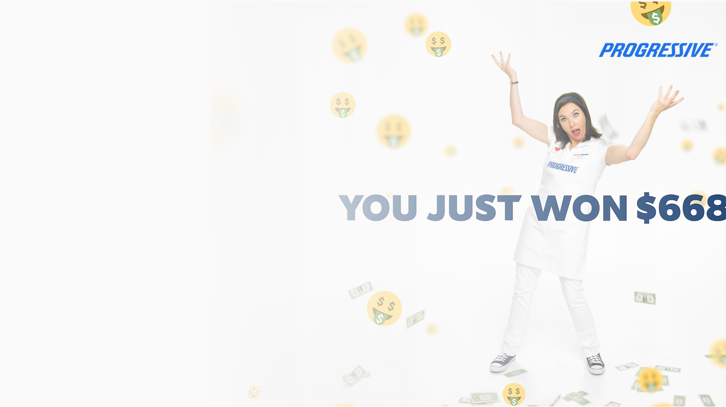 sweepstakes-promotion-showing-woman-winning-cash-prize